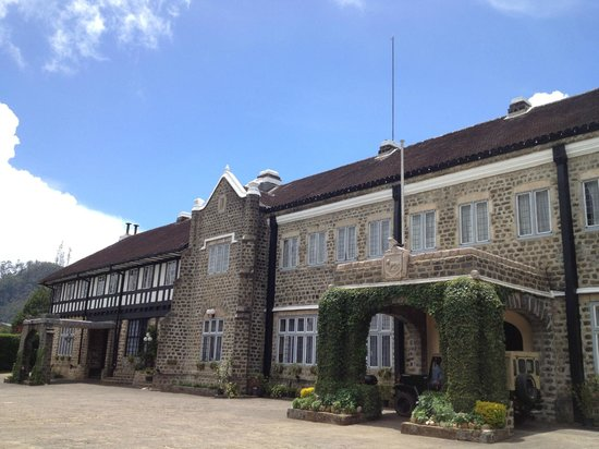 The Hill Club's imposing frontage