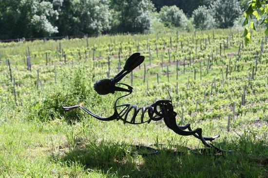 Chateau Lestevenie : Symbol of the vineyard