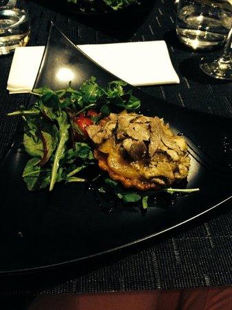 Le Boudoir : Tarte tatin foie gras et truffes
