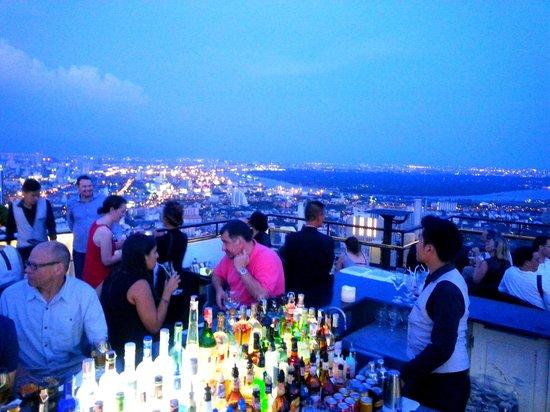 Moon Bar Bangkok : vue