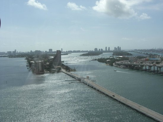 Miami Marriott Biscayne Bay: View from Room