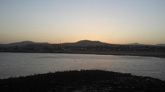 Club Caleta Dorada: view from beach 10mins away from resort