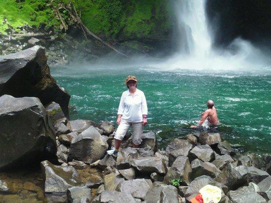 Nayara Resort Spa & Gardens : Swim Area at La Fortuna Waterfall