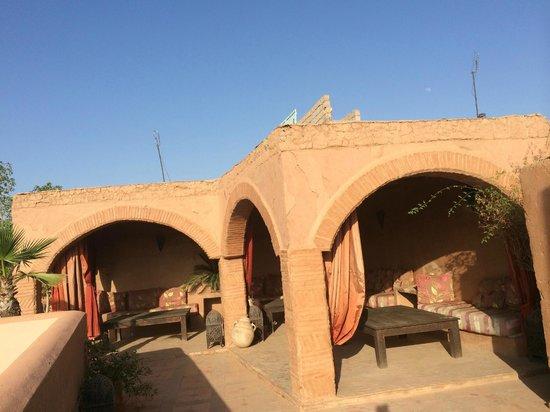Riad Nabila: Rooftop terrace