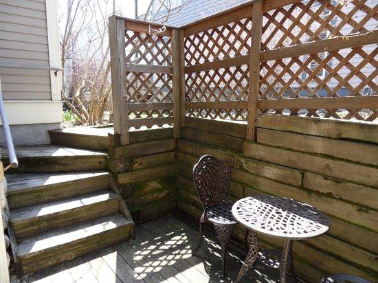 Market Street Inn : Bedroom Garden Suite