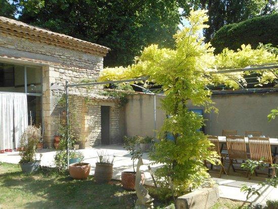 B&B Chez Guarch : terrasse