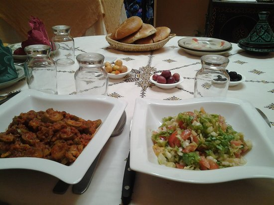 Kenza: side dishes