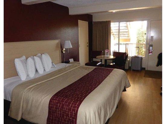 Red Roof Plus+ and Suites Naples : Vue de la chambre