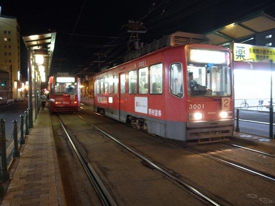 Hakodate Tram : 最終電車