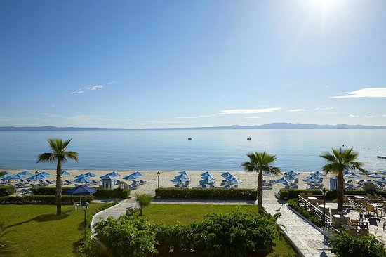 Aegean Melathron Thalasso Spa Hotel: Wonderful sea view