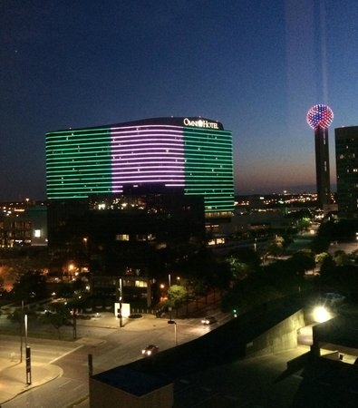 Aloft Dallas Downtown: View from 8th floor