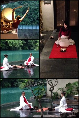 Volando Taipei Urai Spring Spa & Resort : Performances of the day