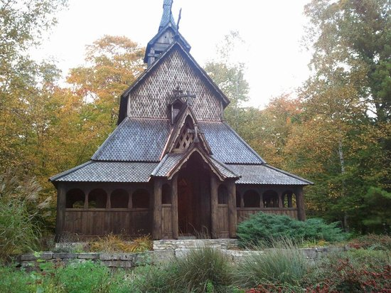 Washington Island, WI: Stavkirke.