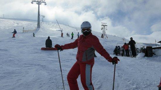 Ski and Wellness Residence Druzba: На трассе.