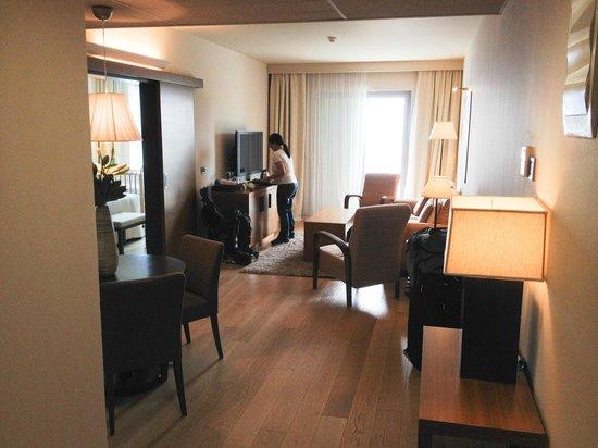 Hotel Bellevue Dubrovnik: Room 301 lounge