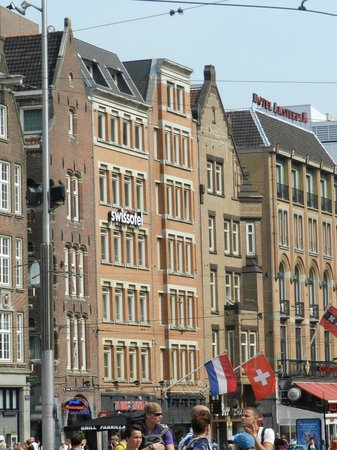 Swissotel Amsterdam: Vista do Hotel