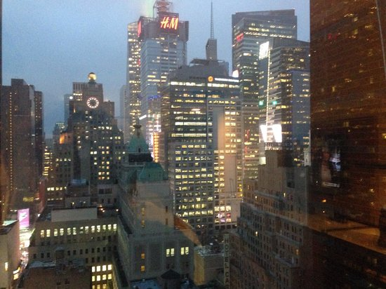 InterContinental New York Times Square: View from our room