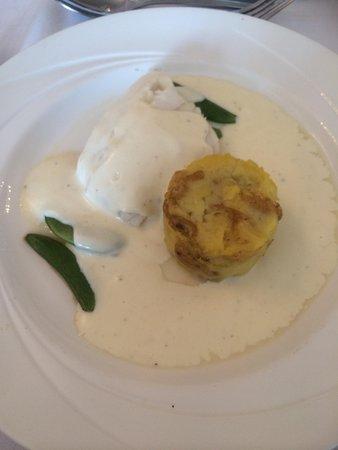 Hallmark Hotel Derby Midland: Fish and potatoes