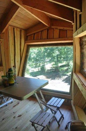 huilo huilo canopy village refugios sobre reserva de animales