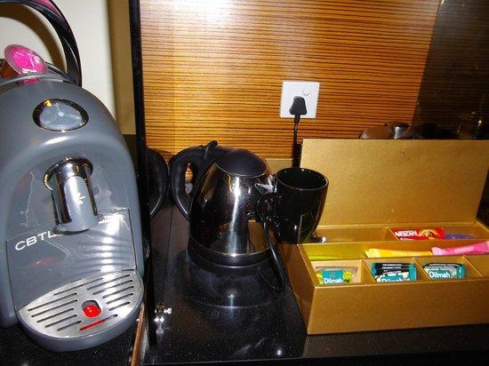 Dua Sentral Suites: I love this coffee machine