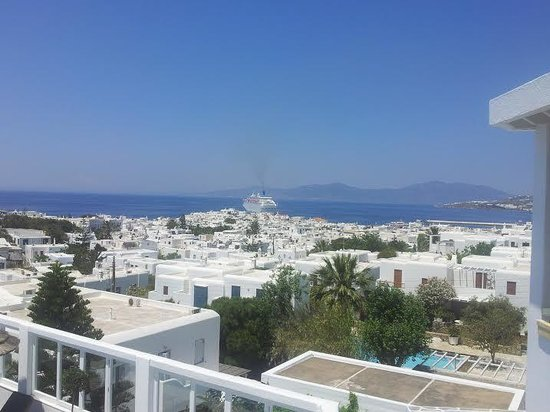 Rochari Hotel : View from room balcony