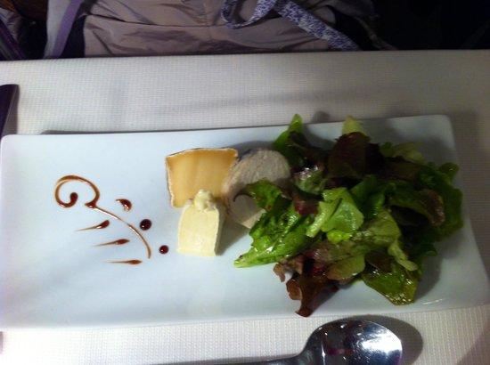 Aux Delices du Prieure: Assiette de fromage