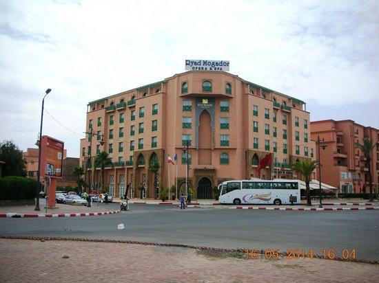 Mogador Opera: Visione hotel