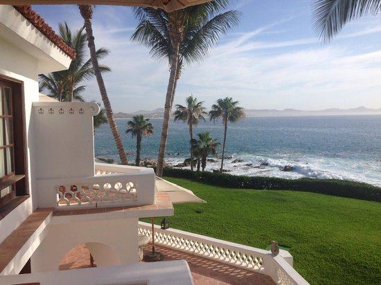 One & Only Palmilla: View from the balcony Room 1528. Beautiful at night, too!