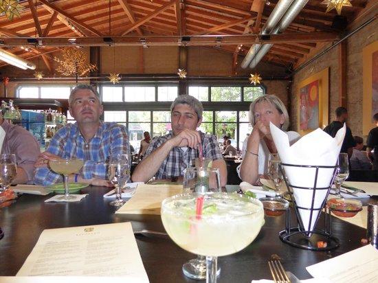 Reposado Restaurant : Colleagues enjoying a Margarita