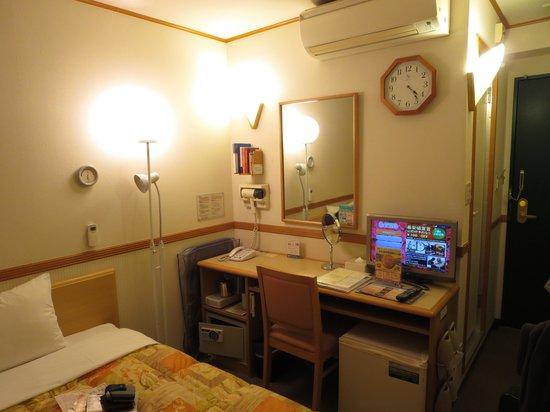 Toyoko Inn Tokyo Nihonbashi: 室内