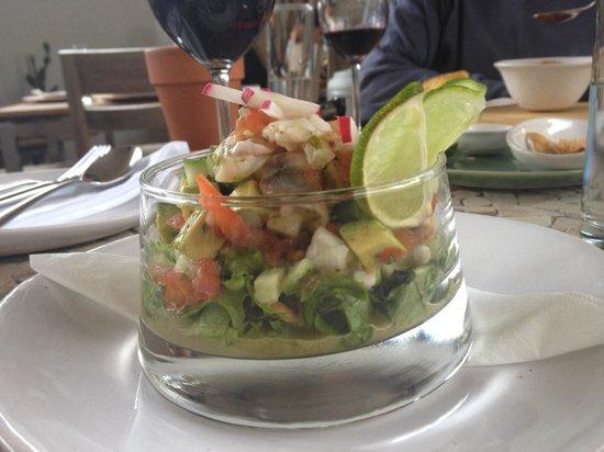 Cosecha Restaurant: Prawn & Avo Ceviche