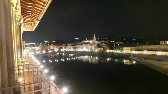 The St. Regis Florence : Night view from room