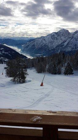 Ferienhotel Moarhof: In het skigebied