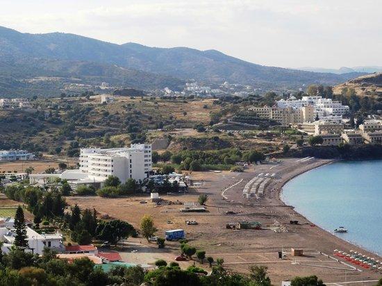 Lindos Mare Hotel : Baai