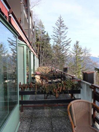 Hotel de la Foret: balcony
