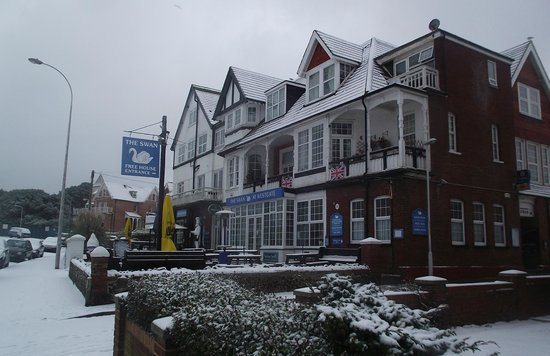 The Swan at Westgate: The Swan in winter