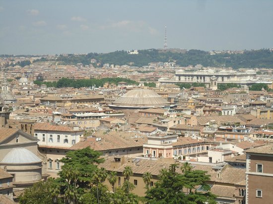 Complesso del Vittoriano: View from the top