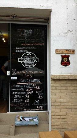 Barista Coffee Bar Entrada Da Cafeteria
