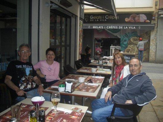 Astoria Park: Girona restuarants
