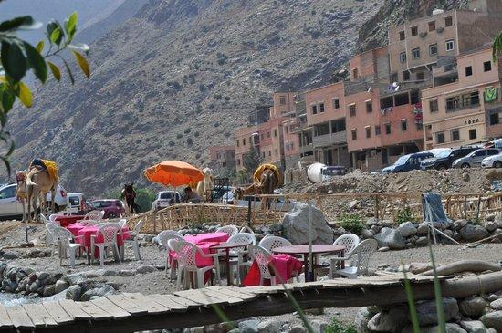 Setti Fatma et les 7 Cascades: le village
