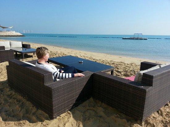 Hilton Doha: Ready for Beach and Shisha