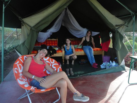 Oldarpoi Mara Camp: The tent
