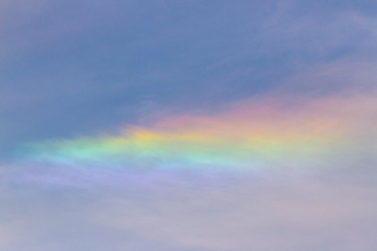 Konza Prairie Research Natural Area: We were fortunate enough to see a sundog!