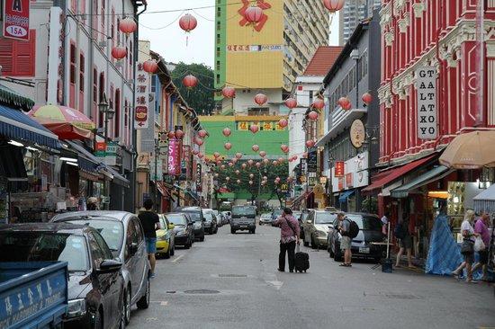 Santa Grand Hotel Lai Chun Yuen: Чайнатаун