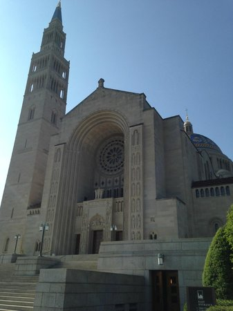 Basilica of the National Shrine of the Immaculate Conception: Front Entrance