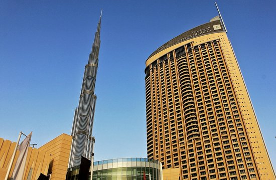 Address Dubai Mall : Helmi's pic