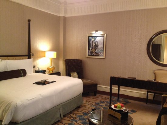 Fairmont Peace Hotel: It was nice room