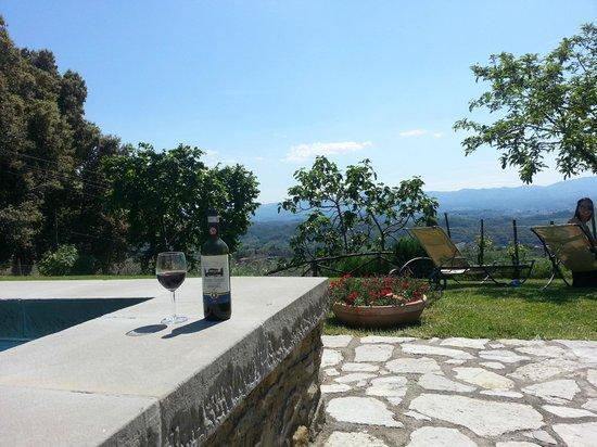 Relais Villa Belpoggio: day of relaxing