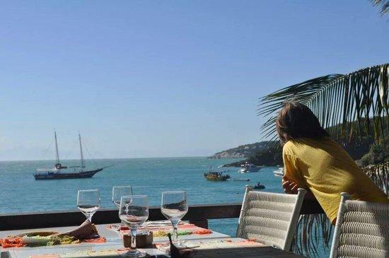 Hotel La Foret: restaurante de la playa