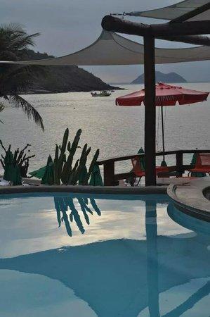 Hotel La Foret: pileta de la playa